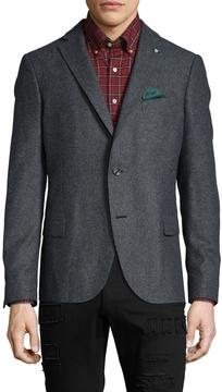 Gant Men's N.C.S. Salt and Pepper Sportcoat