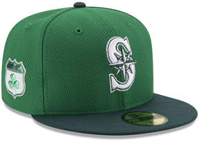 New Era Seattle Mariners St. Pattys Diamond Era 59FIFTY Cap