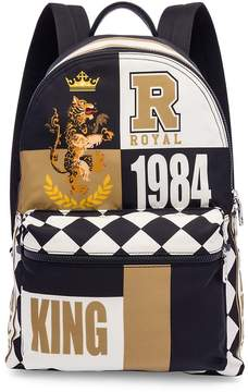Dolce & Gabbana Cat-Print Backpack