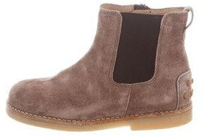 Tod's Boys' Suede Round-Toe Boots