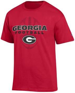 Champion Men's Georgia Bulldogs Football Tee