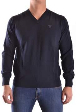 Gant Men's Blue Cotton Sweater.