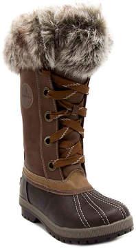 London Fog Women's Melton 2 Snow Boot