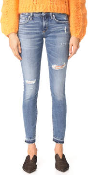 A Gold E AGOLDE Lara Low Rise Skinny Jeans