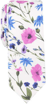 Bar III Men's Tahaa Floral Skinny Tie, Created for Macy's