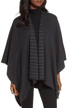 Eileen Fisher Women's Reversible Serape Wrap
