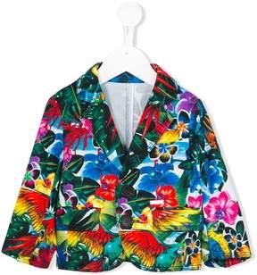 DSQUARED2 floral blazer