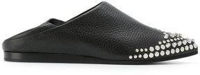 McQ Liberty Fold embellished loafers