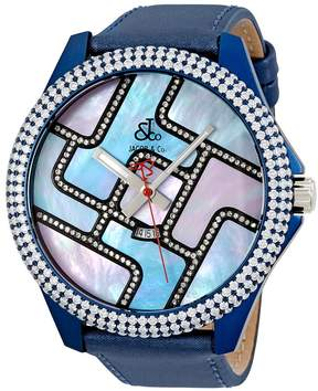 Jacob & co Jacob and Co. One Time Zone Mother of Pearl Diamond Men's Watch