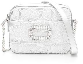 Roger Vivier Lace And Crystal Bag