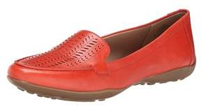 Easy Spirit Womens Jasmera Leather Closed Toe Loafers.