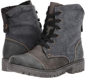 Rieker 78522 Payton 22 Women's Lace-up Boots