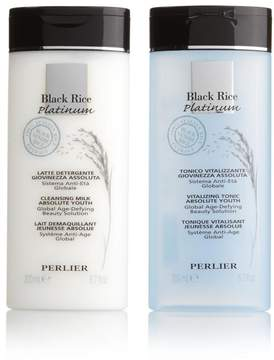 Perlier Black Rice Cleanser and Toner Duo