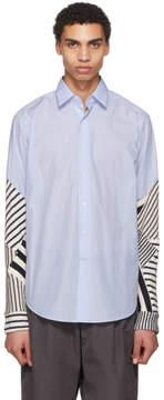 Loewe Blue Patchwork Shirt