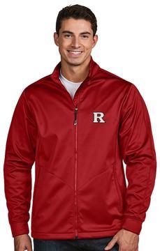 Antigua Men's Rutgers Scarlet Knights Waterproof Golf Jacket