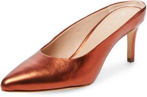 Pour La Victoire Women's Daria Leather Slip On Mule
