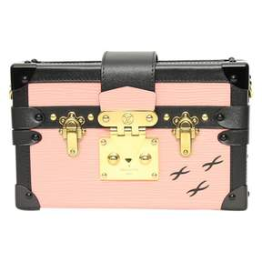 Louis Vuitton Petit Malle leather crossbody bag - PINK - STYLE