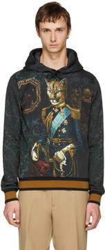 Dolce & Gabbana Green Royal Puma Hoodie