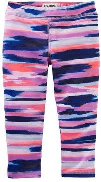 Osh Kosh Girls 4-12 Cropped Leggings