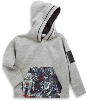 Versace Little Boy's & Big Boy's Graphic-Print Sweater with Hood