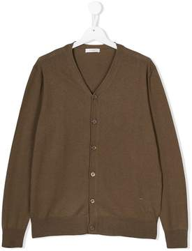 Paolo Pecora Kids Teen knitted V-neck cardigan