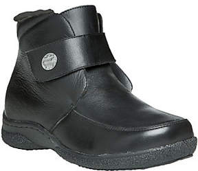 Propet Leather Ankle Boots with Strap - Holly