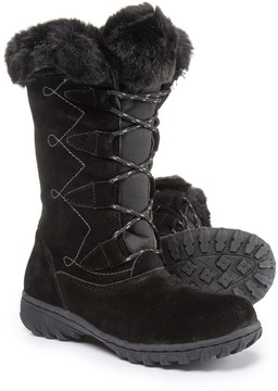 Khombu Meghan Suede Snow Boots - Waterproof, Insulated (For Women)