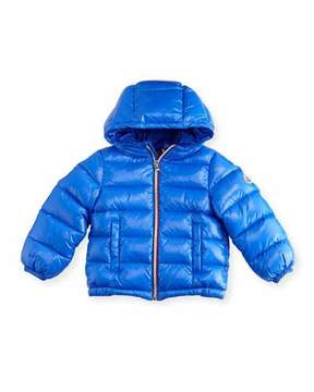 Moncler New Aubert Quilted Zip-Front Puffer Jacket, Size 12M-3