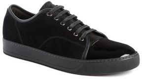 Lanvin Men's Low Top Suede Sneaker
