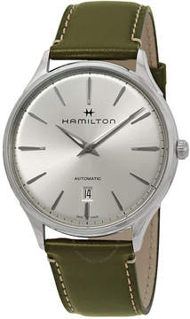 Hamilton Jazzmaster Thinline Automatic Silver Dial Men's Watch