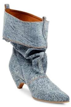 Stella McCartney Slouchy Denim Boots