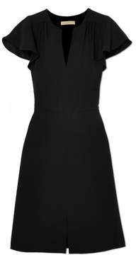 Vanessa Bruno Island Gathered Crepe Dress - Black
