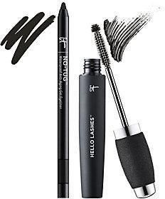 It Cosmetics Hello Lashes 5-in-1 Mascara & No Tug Eyeliner Duo