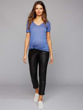 David Lerner Pea Collection Under Belly Jogger Maternity Jogger Pant