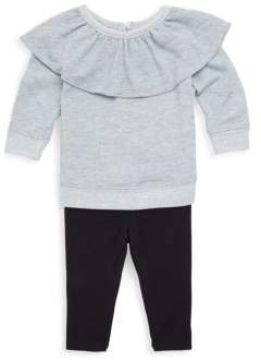 Splendid Baby's Two-Piece Overlay Top & Basic Leggings Set
