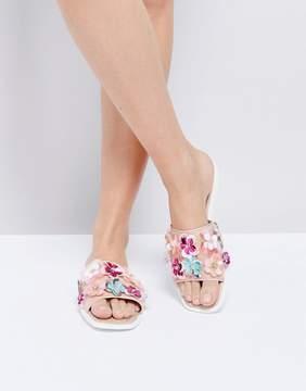 Miss KG Rihanne Embellished Slider Sandals