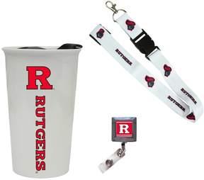 NCAA Rutgers Scarlet Knights Badge Holder