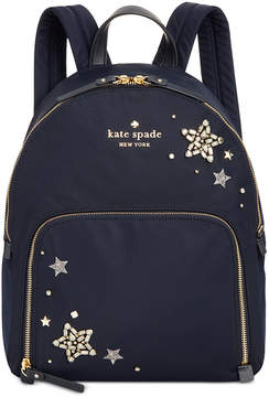 Kate Spade Watson Lane Embellished Hartley Small Backpack - RICH NAVY - STYLE