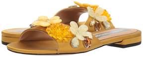Marc Jacobs Clara Embellished Slide Women's Shoes