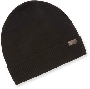 Hickey Freeman Men's Ribbed Cashmere hat