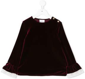 Le Petit Coco lace detail blouse