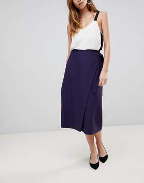 Asos Tailored Midi Simple Wrap