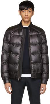 Prada Reversible Black Down Bomber Jacket