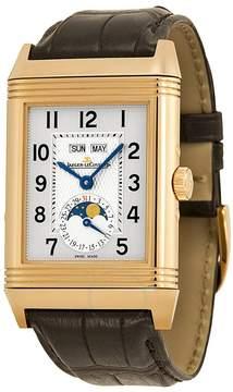 Jaeger-LeCoultre Jaeger Lecoultre Grande Reverso Calendar Rose Gold Men's Watch