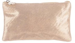 Charlotte Olympia Metallic Cosmetic Pouch
