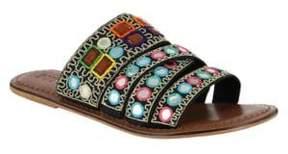 Mia Kalia Leather Slides