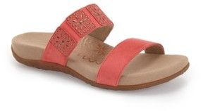 Aetrex Women's 'Macy' Double Band Slide Sandal