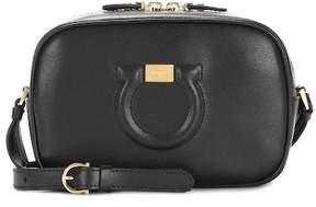 Salvatore Ferragamo City Goncho Camera leather shoulder bag