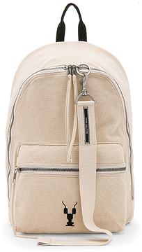 DRKSHDW by Rick Owens Zaino Backpack in Tan.