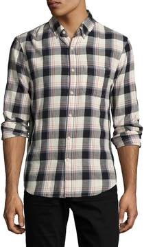 Joe's Jeans Men's Printed Slim Fit Sportshirt